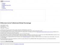 fussball-schule.de Webseite Vorschau
