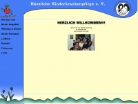 kinderkrankenpflege-marburg.de Webseite Vorschau