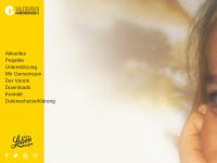 kinderkrebshilfe.com Webseite Vorschau