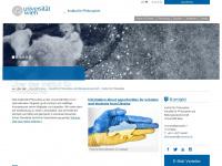 philosophie.univie.ac.at Webseite Vorschau