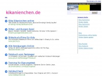 kikanienchen.de Webseite Vorschau