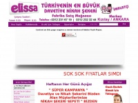 elissadavetiye.com Webseite Vorschau