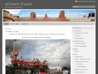xdream-travel.com Webseite Vorschau