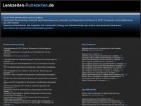 lenkzeiten-ruhezeiten.de