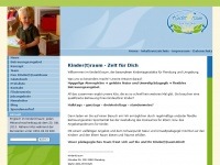 kindertraumkind.de Webseite Vorschau