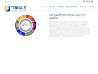 triga-s.de Webseite Vorschau