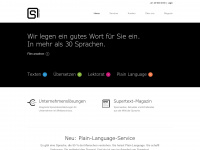 supertext.ch Webseite Vorschau
