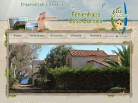 casa-corsica.de Webseite Vorschau