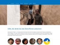 kinder-brauchen-frieden.de Webseite Vorschau