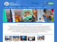 kinderkrebsklinik.de Webseite Vorschau