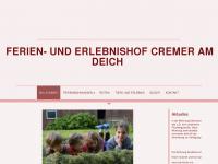 cremer-fewo.de Webseite Vorschau