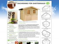 dachrinnen-gartenhaus.de