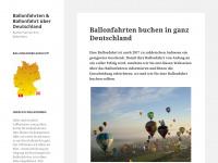 ballonfahrten.com