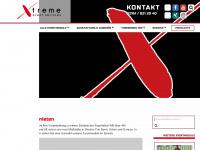 xtreme-events.de Webseite Vorschau