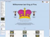 king-of-pins.com Webseite Vorschau
