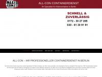 containerservice-berlin.de Webseite Vorschau