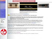 phase-linear.info Webseite Vorschau