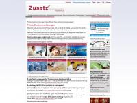 zusatzversicherungen-vergleichen.de Webseite Vorschau