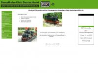 dampfbahnclub-deutschland.de Webseite Vorschau