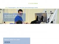 physiotherapie-pettenbach.at Webseite Vorschau
