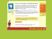 kindermund.de Webseite Vorschau