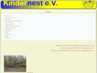kindernest-ev.de Webseite Vorschau