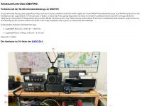 db0fws.de Webseite Vorschau