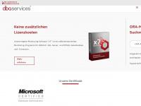 dbaservices.de Webseite Vorschau