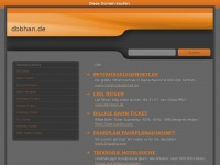 dbbhan.de Webseite Vorschau