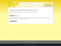 dbd-freigabe.de Webseite Vorschau