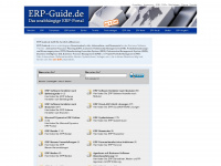 erp-guide.de Webseite Vorschau