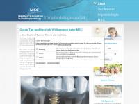 implantologieportal.de Webseite Vorschau