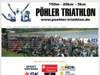 poehler-triathlon.de Webseite Vorschau