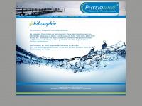 physiowell.de Webseite Vorschau