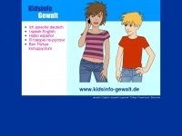 kidsinfo-gewalt.de Webseite Vorschau