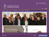 kirche-zarpen.de Webseite Vorschau