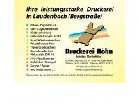 druckerei-hoehn.de Thumbnail