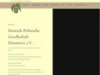 deutsch-polnische-gesellschaft-hannover.de