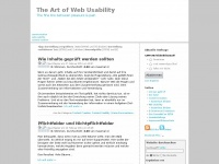 art-of-web-usability.de