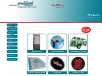 philippi-werbetechnik.de Webseite Vorschau