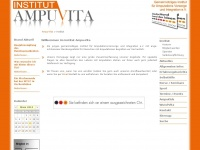 ampu-vita.de Webseite Vorschau