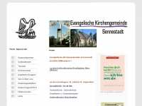 kirche-sennestadt.de Webseite Vorschau