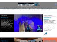 cremefrech.de Webseite Vorschau