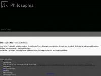 philosophiaverlag.com Webseite Vorschau