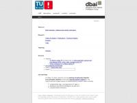 dbai.tuwien.ac.at Webseite Vorschau