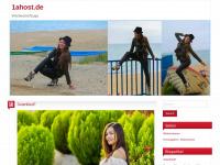 1ahost.de Webseite Vorschau