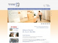 dr-riel.de Webseite Vorschau