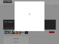 gloria.de Webseite Vorschau