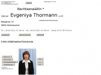 evgeniya-thormann.de