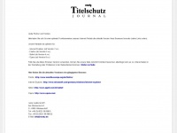 titelschutzjournal.de